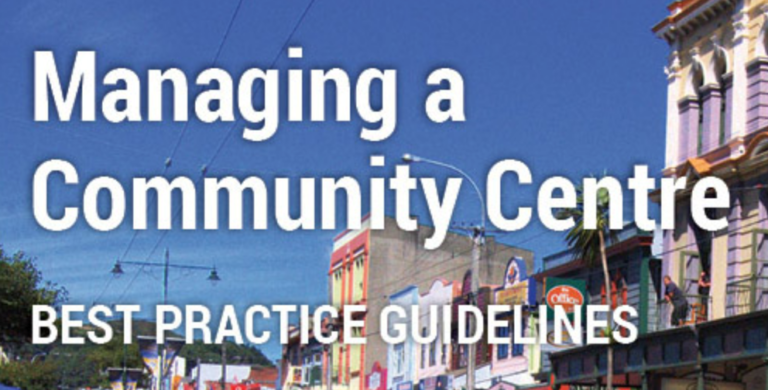 managing a community centre cover image
