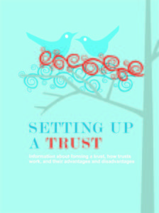 setting up a trust cover